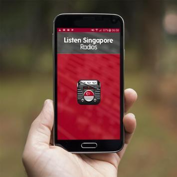 Listen Singapore Radios poster