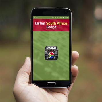 Listen South Africa Radios poster