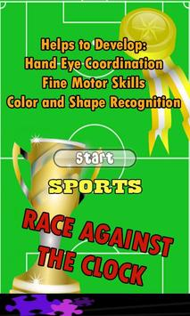 Sports Games for Kids poster