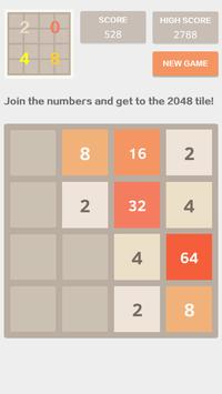 2048 screenshot 1