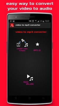 Video tube to audio Mp3 poster