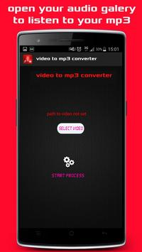 Video tube to audio Mp3 apk screenshot