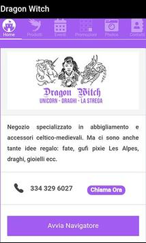 Dragonwitch Milano poster