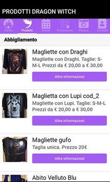 Dragonwitch Milano screenshot 1