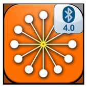 Dosimeter Atom icon