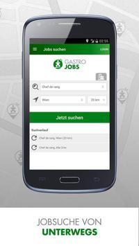Gastronomie Jobs - GASTROJOBS apk screenshot