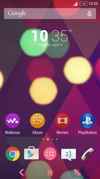 Lights - Xperia Theme apk screenshot