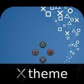 Theme PSpad for XPERIA icono