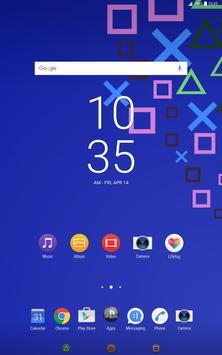 Theme PSpad for XPERIA captura de pantalla 4