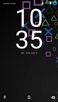 Theme PSpad for XPERIA captura de pantalla 2