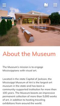 Mississippi Museum of Art Mobile Guide screenshot 4
