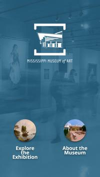 Mississippi Museum of Art Mobile Guide poster