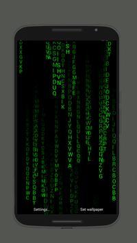 Matrix Live Wallpapers Pro 2018 Poster