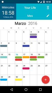 Your Life Calendar apk screenshot