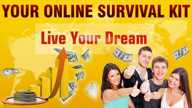 Your Online Survival Kit poster