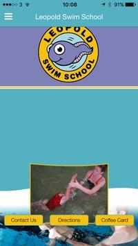 Leopold Swim School poster