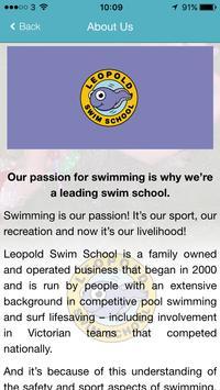 Leopold Swim School apk screenshot