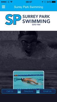 Surrey Park Swimming App poster