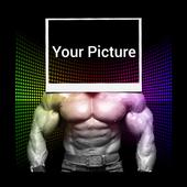 صورتك بالعضلات لاعب كمال اجسام icon