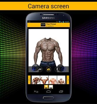 صورتك بالعضلات لاعب كمال اجسام apk screenshot