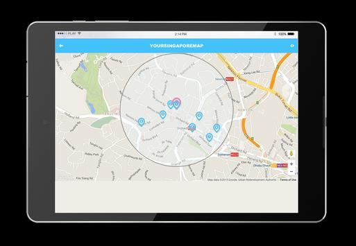 Singapore Map apk screenshot