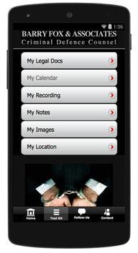 Barry Fox Criminal Defence Law apk screenshot