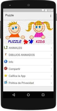Puzzle Kids App poster