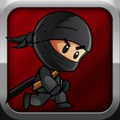 spring ninja jump icon