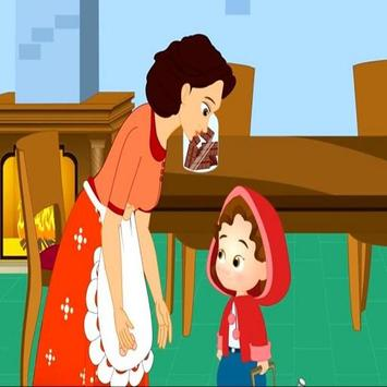 ذات الرداء الاحمر - قصص للأطفال بدون أنترنت apk screenshot