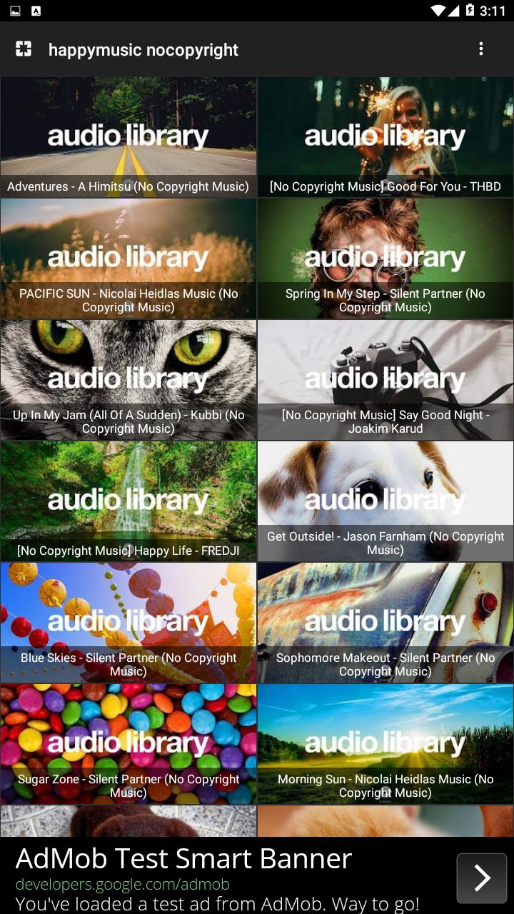 Happy Music | Youtube Audio Library for Android - APK Download