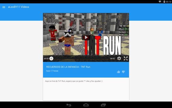aLexBY11 Youtuber Videos screenshot 5
