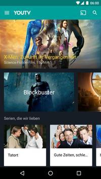 YouTV german TV in your pocket poster
