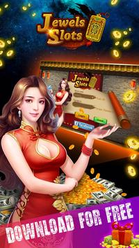Jewels Slots: Free Casino Game poster