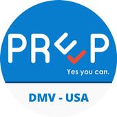 DMV Test USA Prep App icon