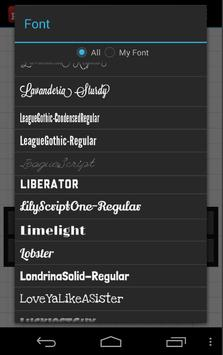 Phonto screenshot 2