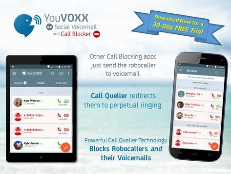 Youvoxx voicemail call blocker apk download free communication youvoxx voicemail call blocker apk screenshot m4hsunfo