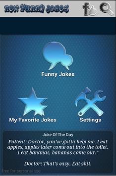 New Funny Jokes 2016 screenshot 1