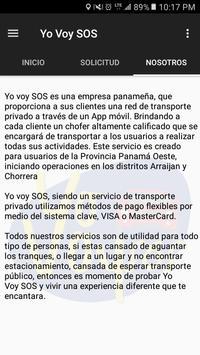 Yo Voy SOS screenshot 3