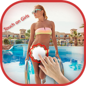 Touch On Girl Prank icon