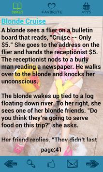 Funny Blonde Jokes apk screenshot