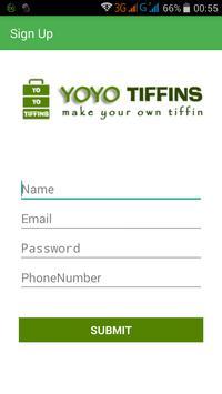 YoYoTiffin screenshot 2