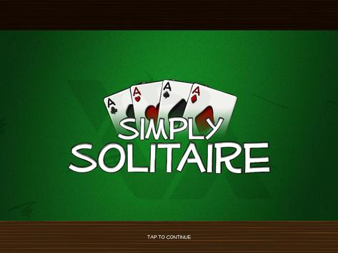 Simply Solitaire HD poster