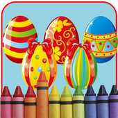 Easter Egg Coloring Games icon