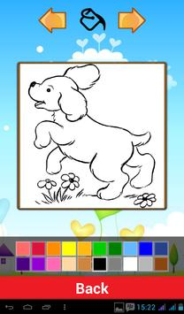 Puppy Coloring Games screenshot 1