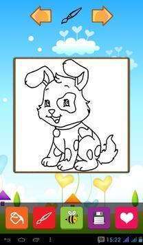 Puppy Coloring Games screenshot 6