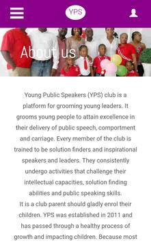 Young Public Speakers screenshot 14
