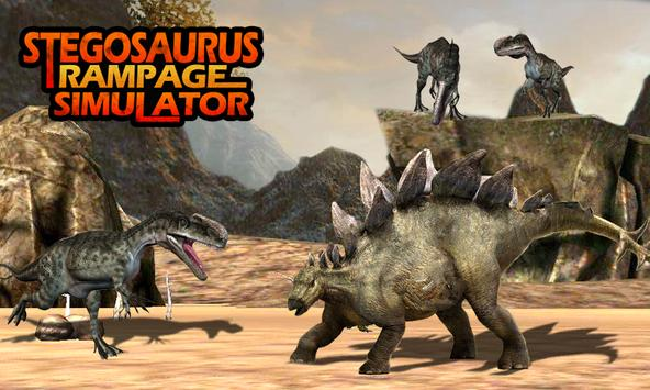 Stegosaurus Rampage Simulator screenshot 4