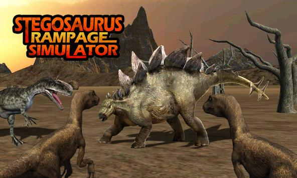 Stegosaurus Rampage Simulator screenshot 3