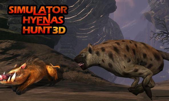 Simulator: Hyenas Hunt 3D screenshot 1
