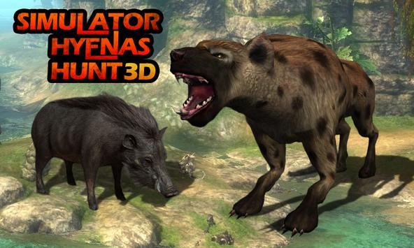 Simulator: Hyenas Hunt 3D screenshot 2